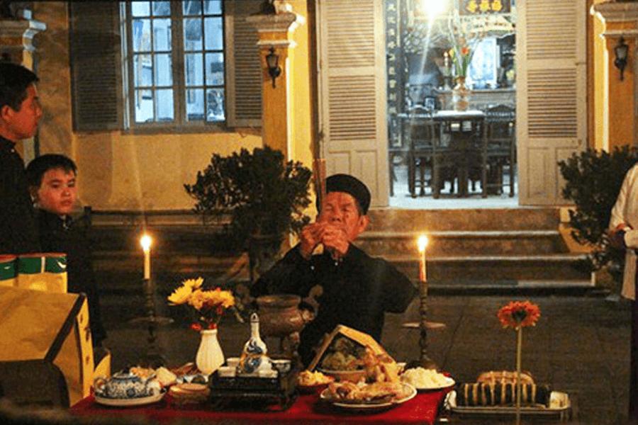 Văn Khấn Cúng Lễ Giao Thừa Ngoài Trời (Đêm 30 Tết)