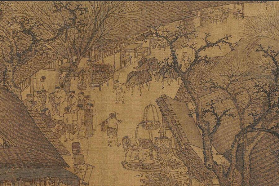 Truyện Nhân Quả - Tai Họa Giáng Xuống Đều Có Lý Do - Thanh Minh Thượng Hà Đồ